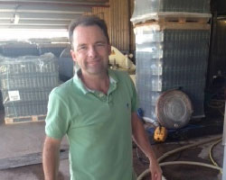 Master of wine alchemy, Clive Vickers