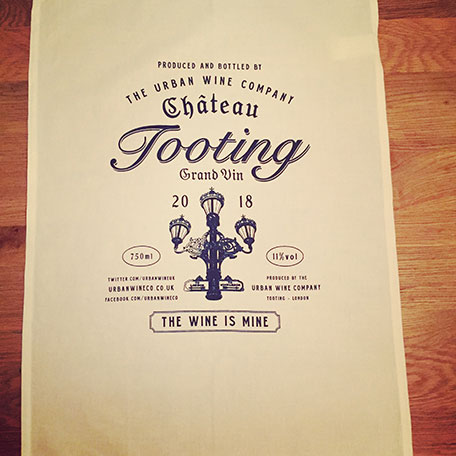Chateau Tooting Cotton Tea Towel